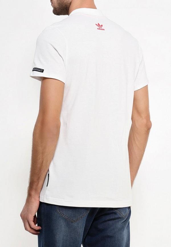 Мужские поло Adidas Originals (Адидас Ориджиналс) AJ8115: изображение 4
