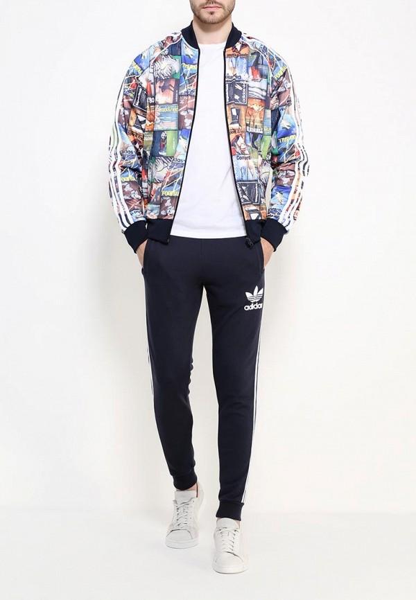 Мужские спортивные брюки Adidas Originals (Адидас Ориджиналс) AY7783: изображение 2