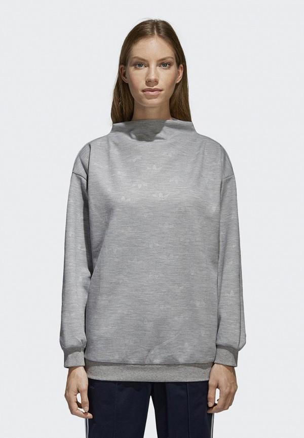 Купить Свитшот adidas Originals, adidas Originals AD093EWALOT9, серый, Весна-лето 2018