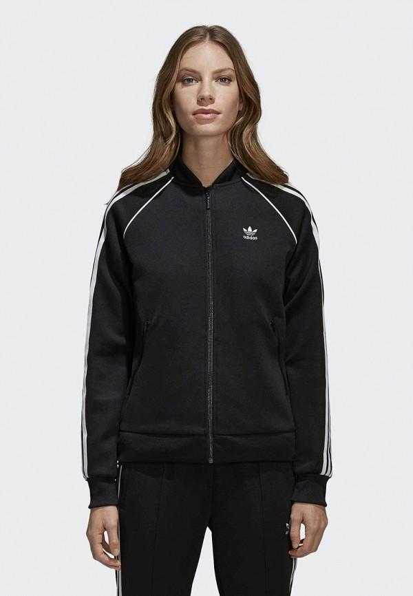 Олимпийка adidas OriginalsОлимпийка adidas Originals. Цвет: черный. Сезон: Весна-лето 2018. С бесплатной доставкой и примеркой на Lamoda.<br><br>Цвет: черный<br>Коллекция: Весна-лето 2018<br>Сезонность: мульти<br>Страна-изготовитель: Вьетнам<br>Пол: women