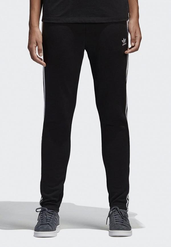 Купить Брюки спортивные adidas Originals, adidas Originals AD093EWALOZ8, черный, Весна-лето 2018