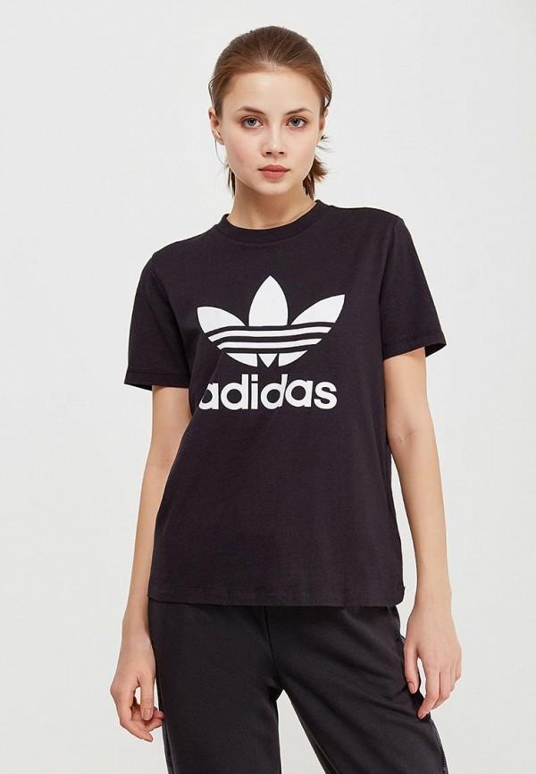 Купить Футболка adidas Originals, adidas Originals AD093EWALPA2, черный, Весна-лето 2018