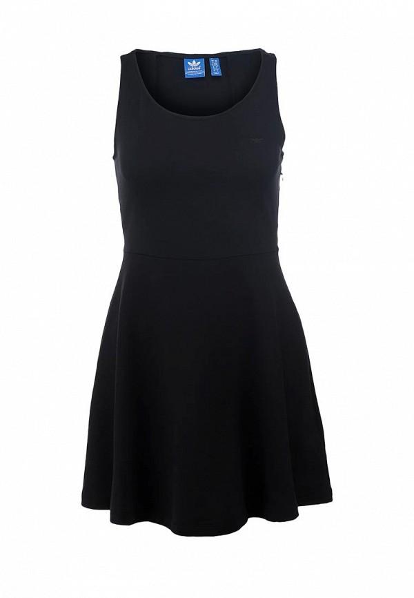 Повседневное платье Adidas Originals (Адидас Ориджиналс) F78257: изображение 1