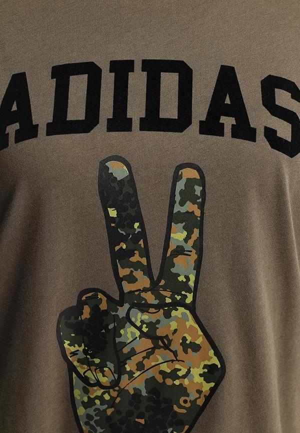 Футболка с надписями Adidas Originals (Адидас Ориджиналс) M30364: изображение 2