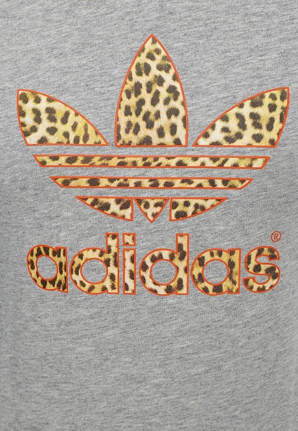 Футболка с надписями Adidas Originals (Адидас Ориджиналс) M30397: изображение 2