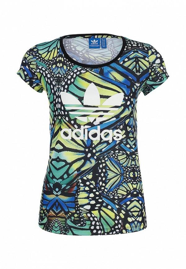 Футболка с коротким рукавом Adidas Originals (Адидас Ориджиналс) M30401: изображение 1