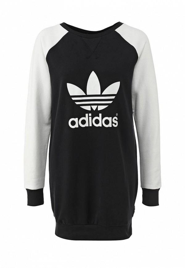 Платье-мини Adidas Originals (Адидас Ориджиналс) M30770: изображение 1