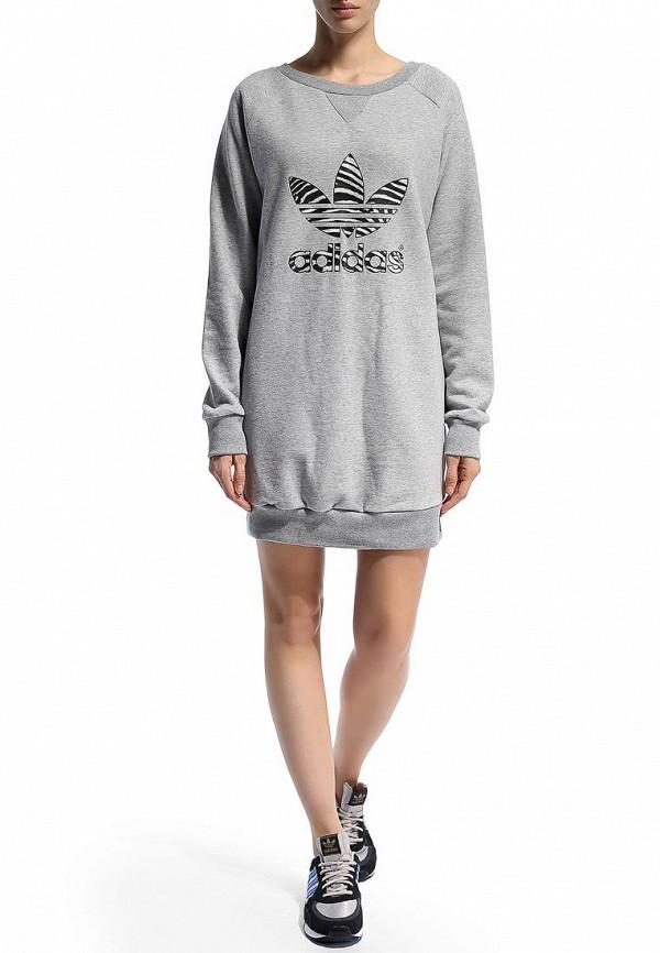 Платье-мини Adidas Originals (Адидас Ориджиналс) M30776: изображение 6