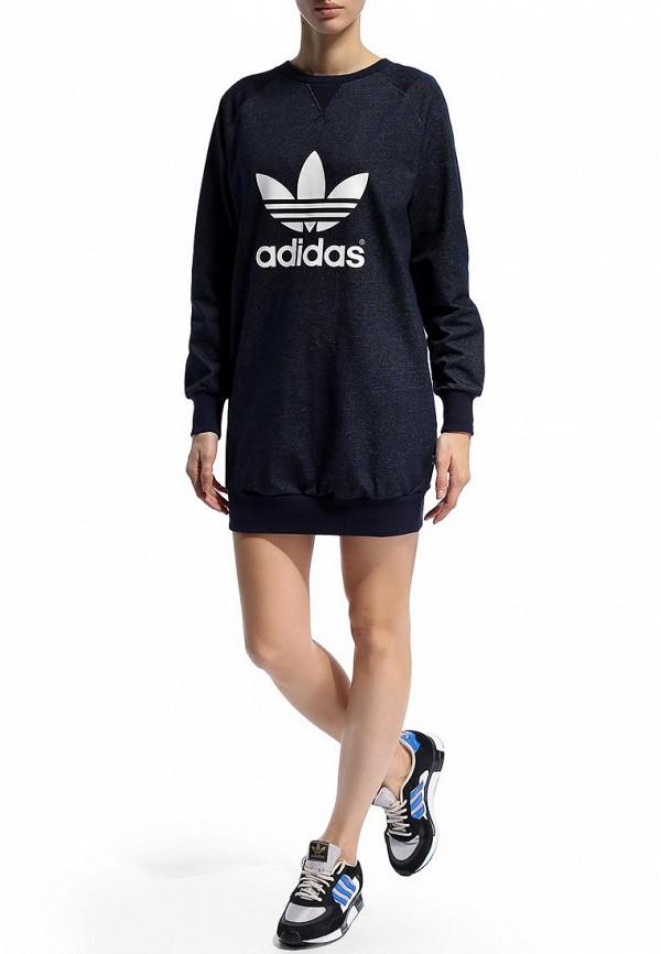 Платье-мини Adidas Originals (Адидас Ориджиналс) M30779: изображение 5