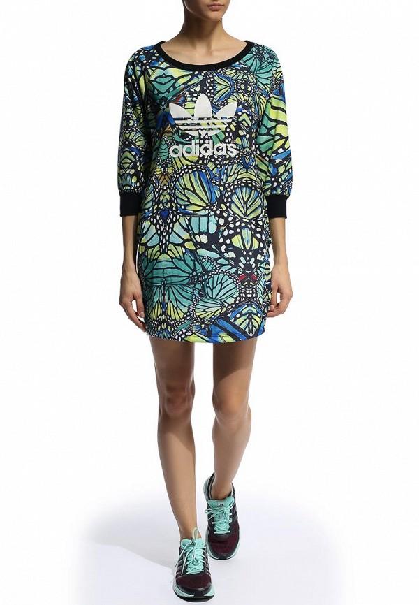 Платье-мини Adidas Originals (Адидас Ориджиналс) M31031: изображение 3