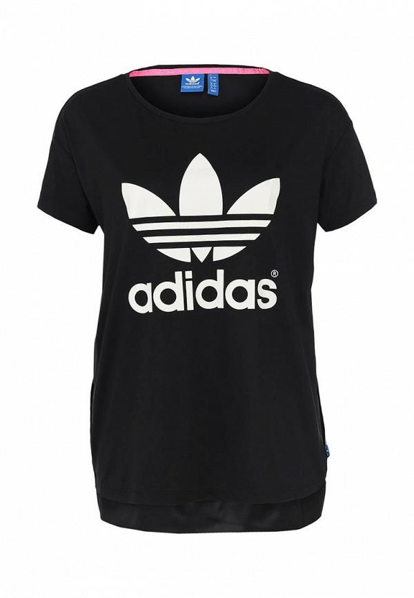 Футболка с надписями Adidas Originals (Адидас Ориджиналс) M69760: изображение 1