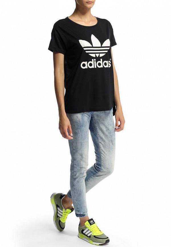 Футболка с надписями Adidas Originals (Адидас Ориджиналс) M69760: изображение 3