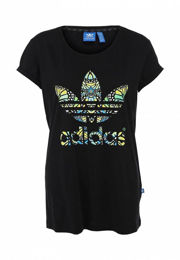 Футболка с надписями Adidas Originals (Адидас Ориджиналс) M69778: изображение 1