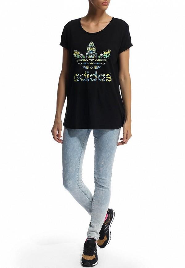 Футболка с надписями Adidas Originals (Адидас Ориджиналс) M69778: изображение 4