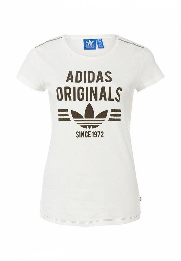 Футболка с надписями Adidas Originals (Адидас Ориджиналс) M69945: изображение 1