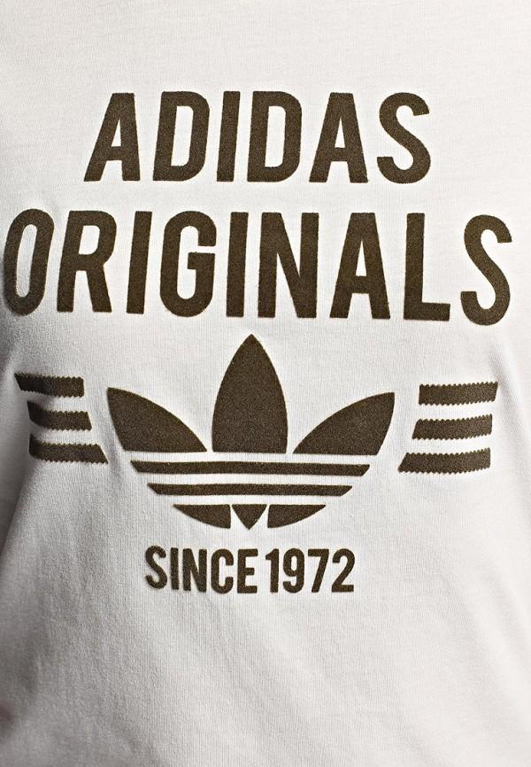 Футболка с надписями Adidas Originals (Адидас Ориджиналс) M69945: изображение 2