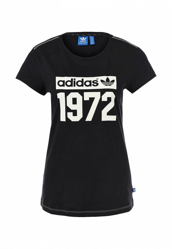Футболка с надписями Adidas Originals (Адидас Ориджиналс) M69946: изображение 1