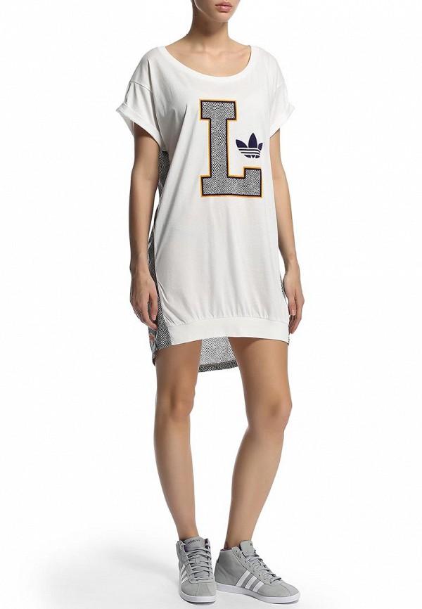 Платье-мини Adidas Originals (Адидас Ориджиналс) M69955: изображение 5
