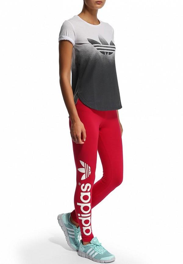 Женские леггинсы Adidas Originals (Адидас Ориджиналс) F78411: изображение 5