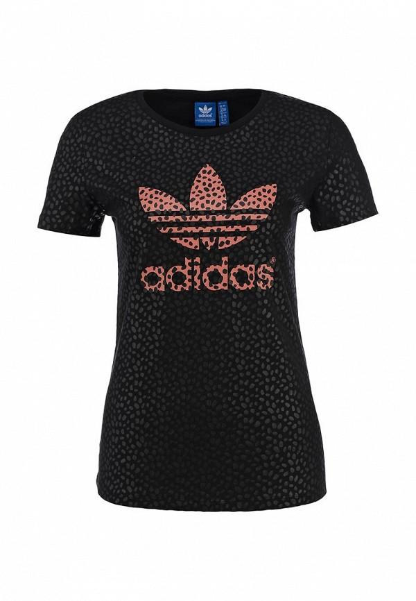 Футболка с надписями Adidas Originals (Адидас Ориджиналс) S18496: изображение 1