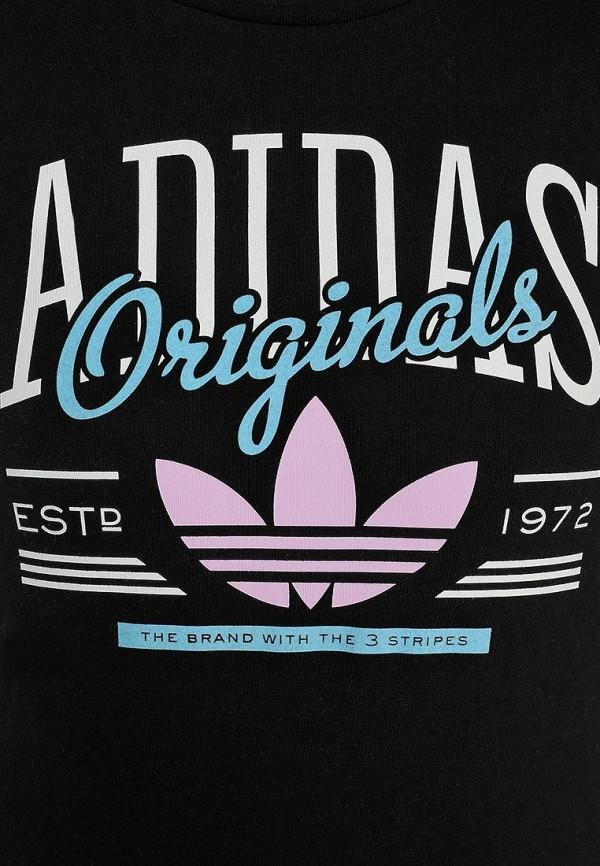 Футболка с надписями Adidas Originals (Адидас Ориджиналс) S18500: изображение 3