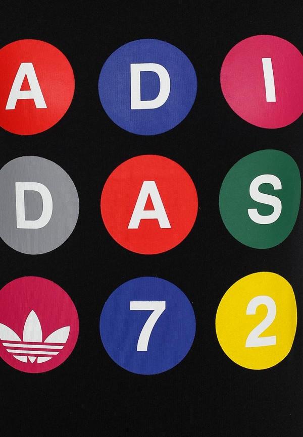 Футболка с надписями Adidas Originals (Адидас Ориджиналс) S18502: изображение 2
