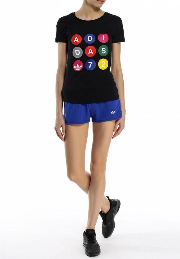 Футболка с надписями Adidas Originals (Адидас Ориджиналс) S18502: изображение 3