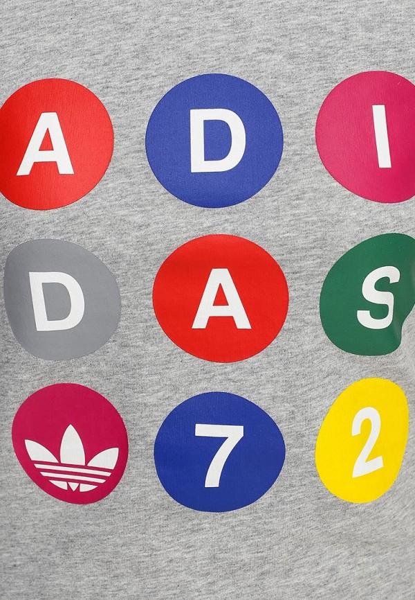 Футболка с надписями Adidas Originals (Адидас Ориджиналс) S18503: изображение 2