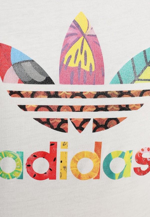 Футболка с надписями Adidas Originals (Адидас Ориджиналс) S18505: изображение 2