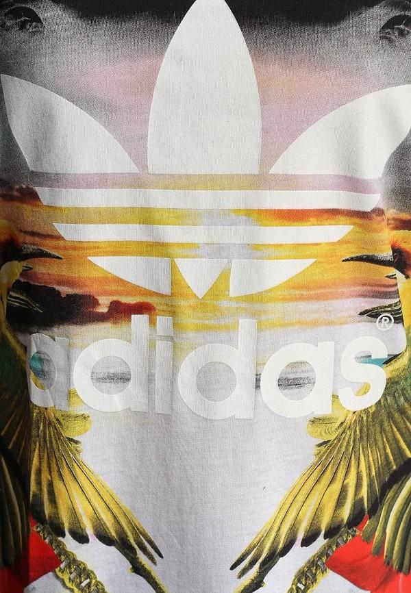 Футболка с надписями Adidas Originals (Адидас Ориджиналс) S18506: изображение 2