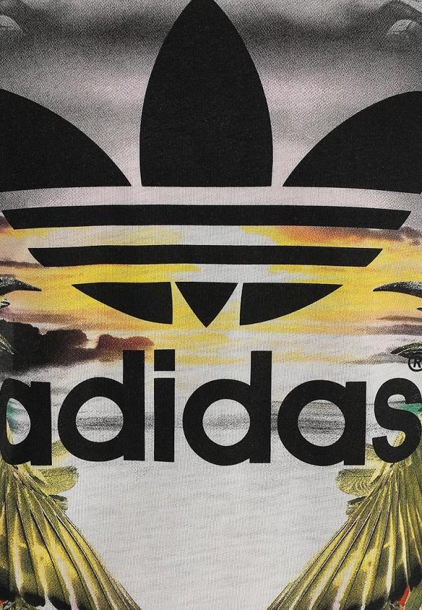 Футболка с надписями Adidas Originals (Адидас Ориджиналс) S18507: изображение 3
