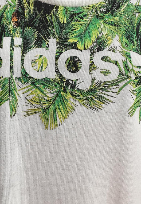 Футболка с надписями Adidas Originals (Адидас Ориджиналс) S18508: изображение 2