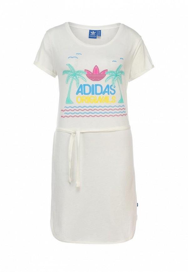 Платье-миди Adidas Originals (Адидас Ориджиналс) S18513: изображение 1
