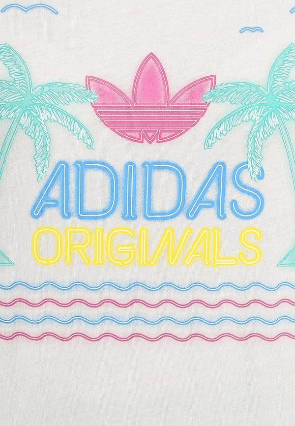 Платье-миди Adidas Originals (Адидас Ориджиналс) S18513: изображение 2