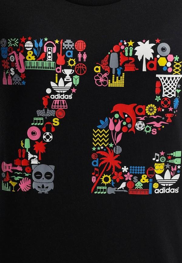Футболка с надписями Adidas Originals (Адидас Ориджиналс) S19527: изображение 2