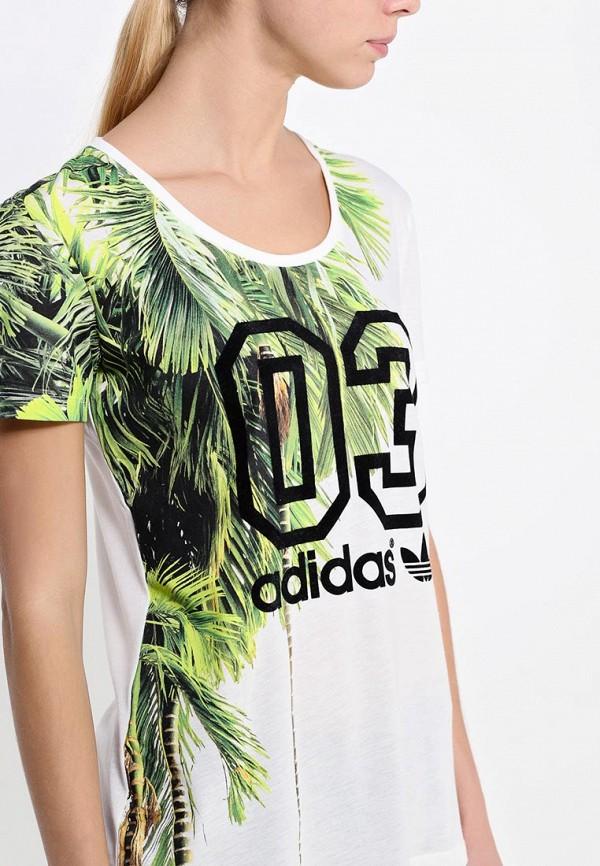 Футболка с надписями Adidas Originals (Адидас Ориджиналс) S19534: изображение 2