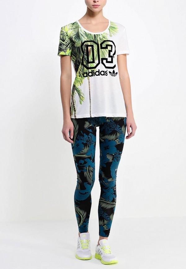Футболка с надписями Adidas Originals (Адидас Ориджиналс) S19534: изображение 3
