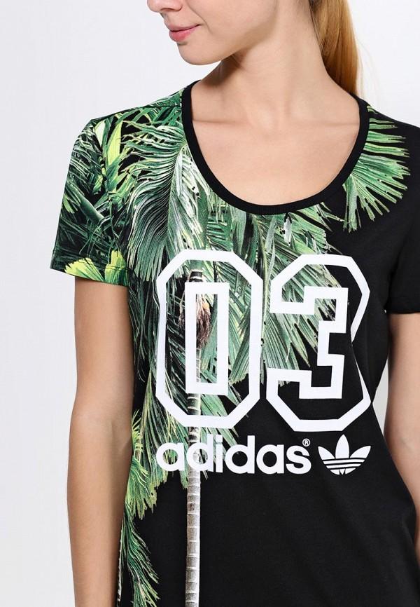 Футболка с надписями Adidas Originals (Адидас Ориджиналс) S19535: изображение 2