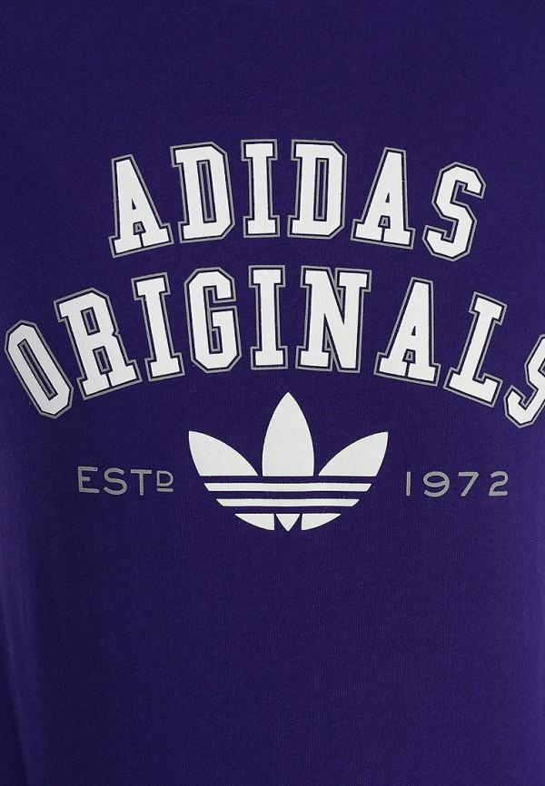 Футболка с надписями Adidas Originals (Адидас Ориджиналс) S19591: изображение 3