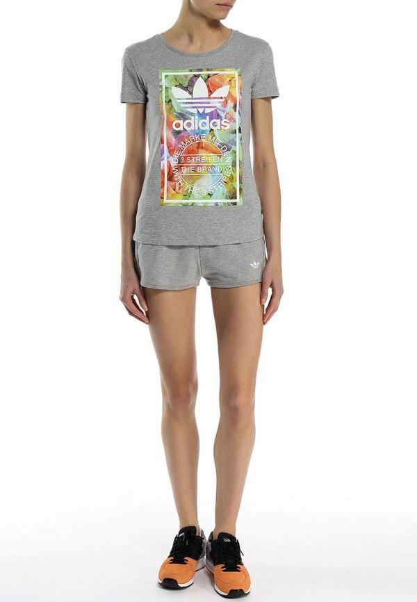 Женские спортивные шорты Adidas Originals (Адидас Ориджиналс) S19645: изображение 3