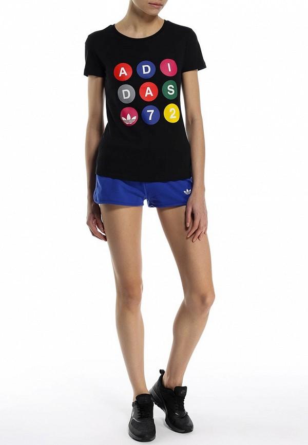Женские спортивные шорты Adidas Originals (Адидас Ориджиналс) S19647: изображение 3