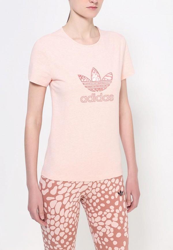 Футболка с коротким рукавом Adidas Originals (Адидас Ориджиналс) S19770: изображение 2