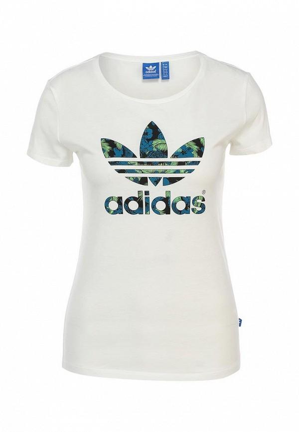 Футболка с надписями Adidas Originals (Адидас Ориджиналс) S19771: изображение 1