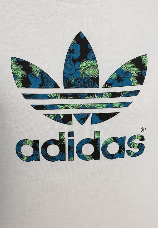 Футболка с надписями Adidas Originals (Адидас Ориджиналс) S19771: изображение 2