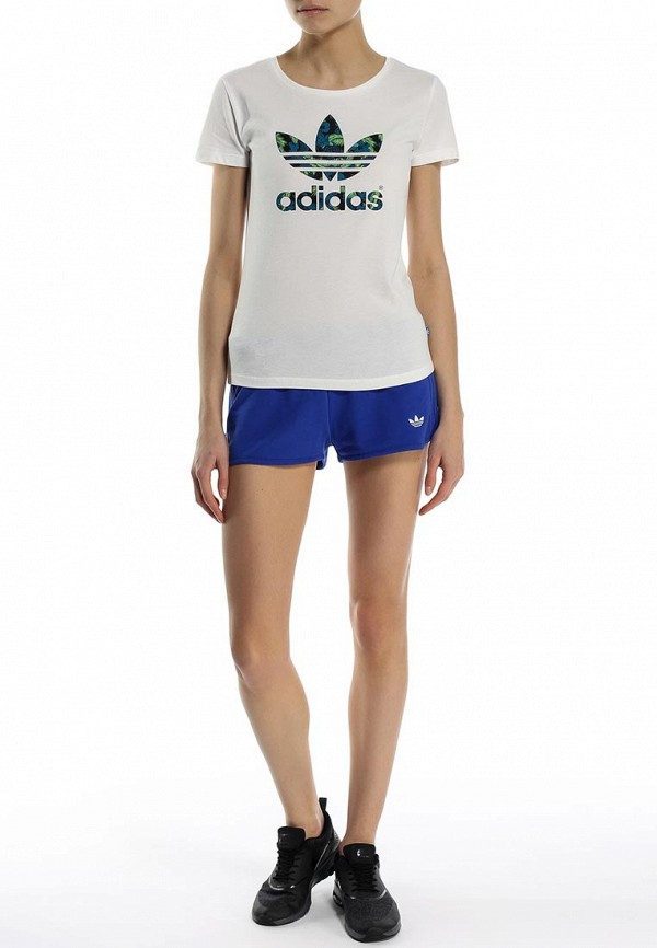 Футболка с надписями Adidas Originals (Адидас Ориджиналс) S19771: изображение 3