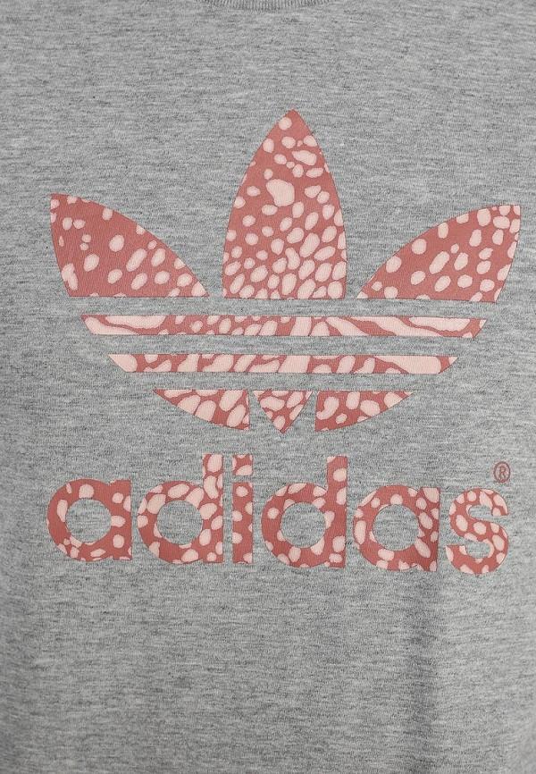 Футболка с надписями Adidas Originals (Адидас Ориджиналс) S19773: изображение 2