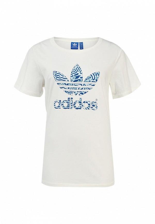 Футболка с надписями Adidas Originals (Адидас Ориджиналс) S19809: изображение 1