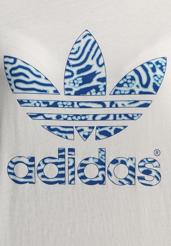 Футболка с надписями Adidas Originals (Адидас Ориджиналс) S19809: изображение 2
