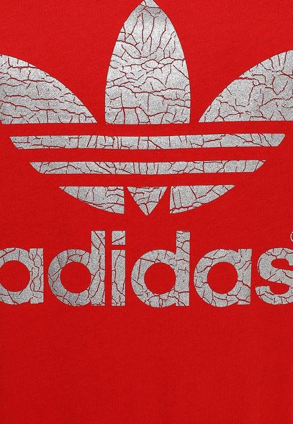 Платье-миди Adidas Originals (Адидас Ориджиналс) S19847: изображение 3