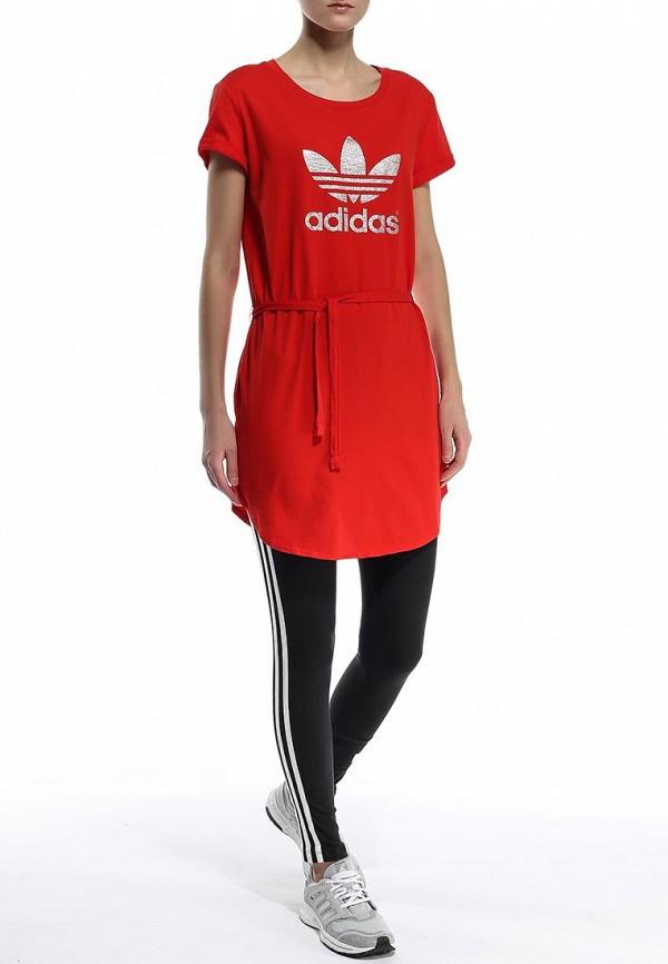 Платье-миди Adidas Originals (Адидас Ориджиналс) S19847: изображение 4